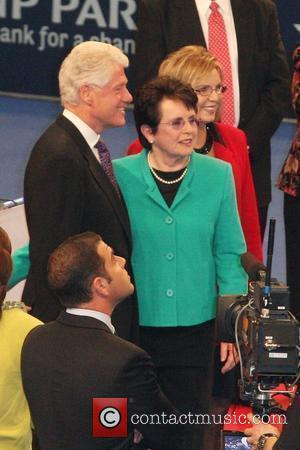 Bill Clinton, Billie Jean King and Madison Square Garden