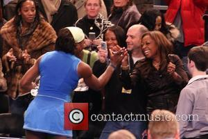 Serena Williams, Star Jones and Madison Square Garden