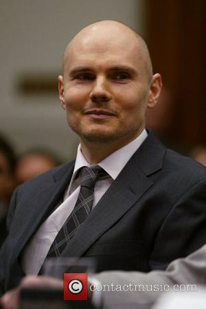 Smashing Pumpkins frontman Billy Corgan testifies on Capitol Hill to the House Judiciary Committee hearing on the reintroduced Performance Rights...