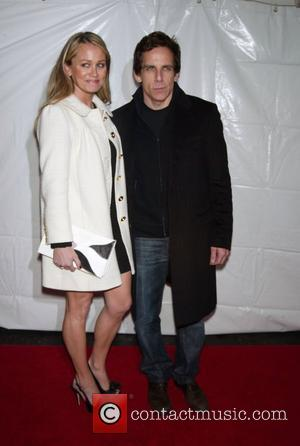 Christine Taylor and Ben Stiller Opening Night of 'Billy Elliot The Musical' on Broadway at the Imperial Theatre - arrivals...