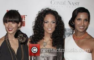 Jessica Alba and Alicia Keys