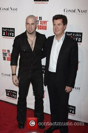 Chris Daughtry and Simon Fuller
