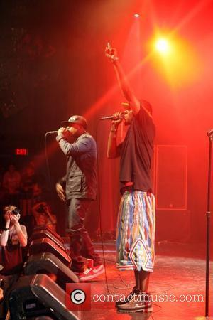 Mos Def and Talib Kweli at The Black Star Concert presented by BlackSmith and Live N Direct held at The...