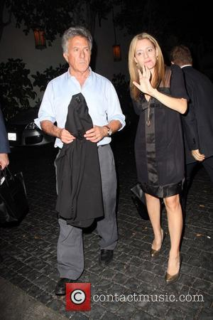 Dustin Hoffman Outside the US. Launch Party for the New BlackBerry Bold held at a Private Residence  Beverly Hills,...
