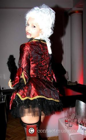 Anneka Svenska attend the Blood Lust Ball 2008 held at the Button Club London, England - 25.10.08