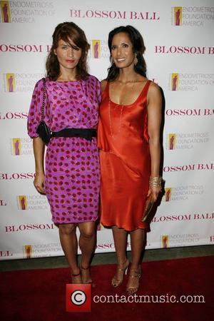 Helena Christensen and Padma Lakshmi