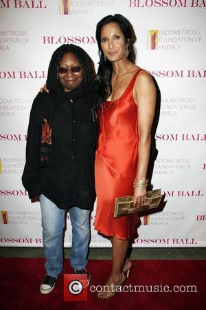Whoopi Goldberg and Padma Lakshmi