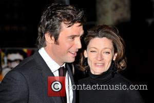 Michelle Gomez and Jack Davenport World Premiere of 'The Boat That Rocked' held at The Odeon, Leicester Square - arrivals...