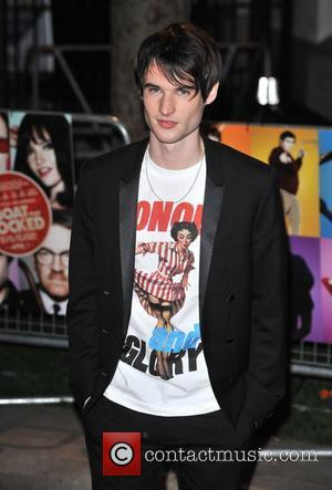Tom Sturridge World Premiere of 'The Boat That Rocked' held at The Odeon, Leicester Square - arrivals London, England -...