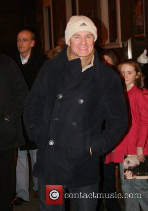 Bobby Davro outside the Bristol Hippodrome after appearing in the 'Cindella' pantomime. Bristol, England - 03.01.09