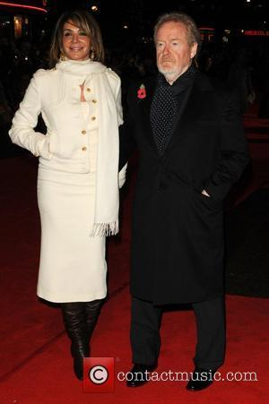 Ridley Scott and guest at the UK film premiere of Body Of Lies held at Vue Leicester Square London, England...