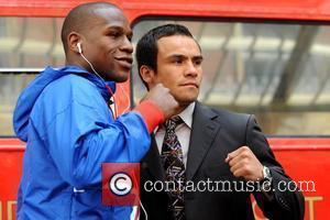 Floyd Mayweather Jr. and Juan Manuel Marquez