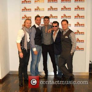 Boyzone, Duffy, Keith Duffy, Shane Lynch and Stephen Gately