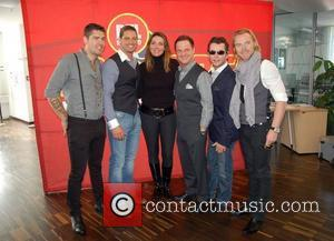 Shane Lynch, Boyzone, Duffy, Keith Duffy and Stephen Gately