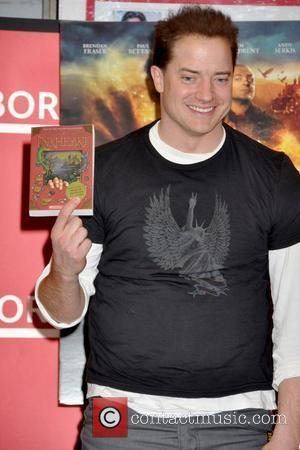 Brendan Fraser  attends a book signing for 'Inkheart' at Borders Columbus Circle New York City, USA - 14.01.09