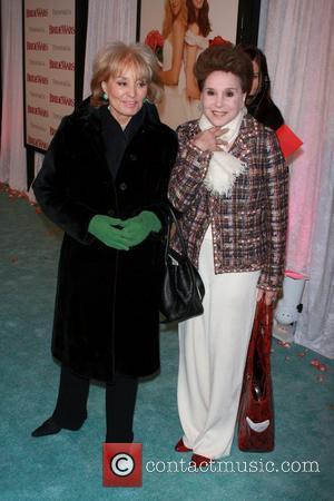 Barbara Walters and Cindy Adams