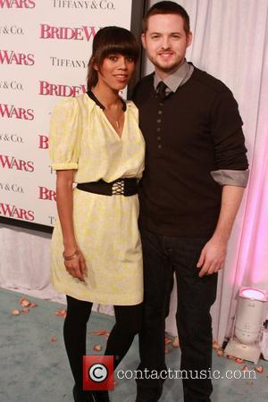 Damien Fahey and Grasie Mercedes at the New York Premiere of 'Bride Wars' at AMC Loews Lincoln Square - Arrivals...