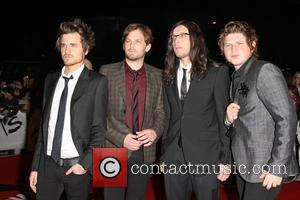 Jared Followill, Matthew Followill, Caleb Followill and Nathan Followill from The Kings of Leon The 2009 BRIT Awards - Red...