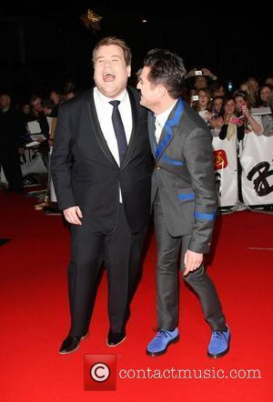 Mathew Horne and James Corden The 2009 BRIT Awards - Red Carpet Arrivals held at Earls Court London, England -...