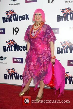 Zandra Rhodes Champagne Launch of BritWeek 2009 at the Consul General's Official Residence  Los Angeles, California - 23.04.09