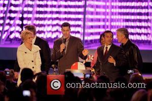 Britney Spears, Adam Carolla and Mayor Antonio Villaraigosa