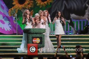Girls Aloud, Nadine Coyle, Nicola Roberts and Sarah Harding