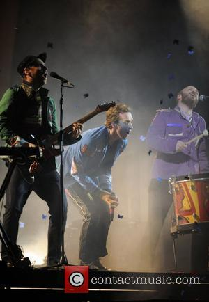 Coldplay The 2009 BRIT Awards - Show held at Earls Court London, England - 18.02.09