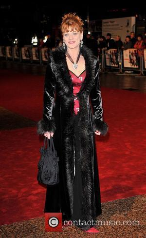 Samantha Bond Cinema & Television Benevolent Fund Royal Film Performance 2008: A Bunch Of Amateurs, held at the Odeon Leicester...