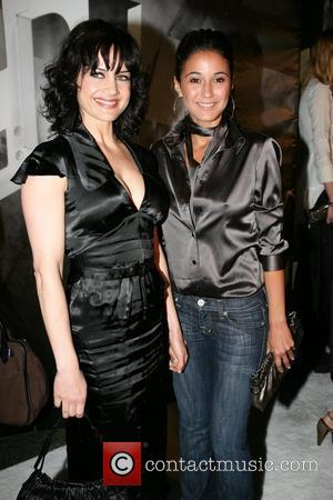Carla Gugino and Emmanuelle Chriqui