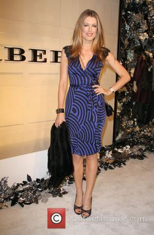 Tara Moss Christopher Bailey and Mario Testino Burberry Beverly Hills Store Re-Opening - Arrivals Beverly Hills, California - 20.10.08
