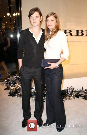 Sam Riley and Alexandra Maria Lara Christopher Bailey and Mario Testino Burberry Beverly Hills Store Re-Opening - Arrivals Beverly Hills,...