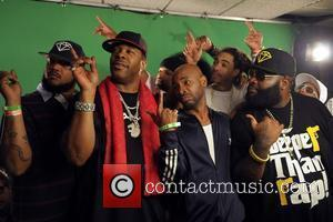 Busta Rhymes, Jt Money, Triple C and Rick Ross