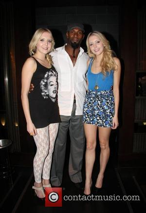 Samantha Marchant, Wayne Gordon and Amanda Marchant The Button Club hosts The Lingerie Collective held at Mint Leaf London, England...