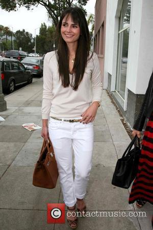 Jordana Brewster outside the Byron & Tracey Lounge held at Byron & Tracey Salon Los Angeles, California - 29.05.09