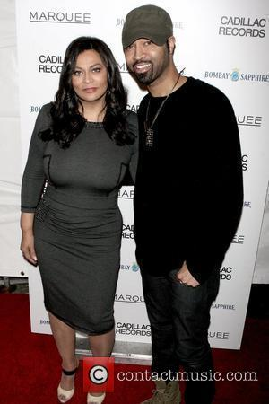 Tina Knowles and Ty Hunter New York Premiere of 'Cadillac Records' at AMC Loews - Arrivals New York City, USA...
