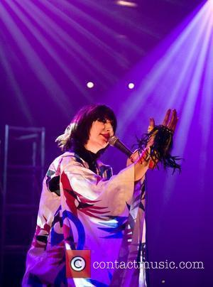 Karen O of The Yeah Yeah Yeahs performing live at the Roundhouse as part of The Camden Crawl 2009 -...