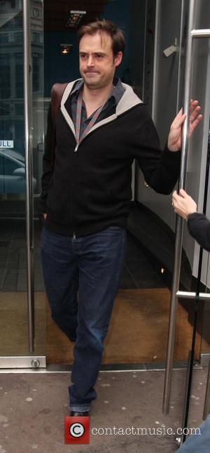 Jamie Theakston leaving Capital Radio studios in Leicester Square London, England - 17.02.09