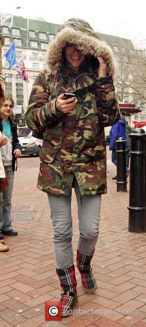 Nicole Appleton leaving Capital Radio studios in Leicester Square London, England - 17.02.09