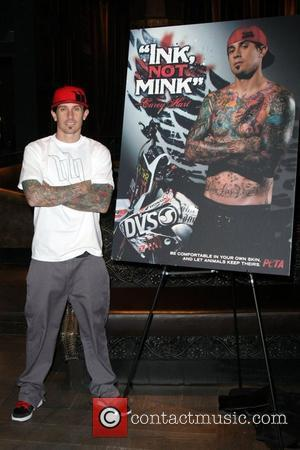Carey Hart and Alecia Moore