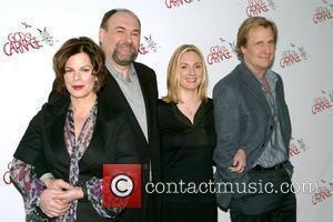 Marcia Gay Harden, James Gandolfini and Marcia Gay