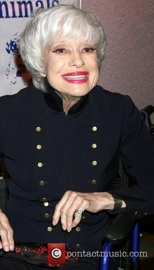 Carol Channing Actors and Others for Animals 'Celebrity Toast for Carol Channing', held at the Universal Hilton Hotel Los Angeles,...