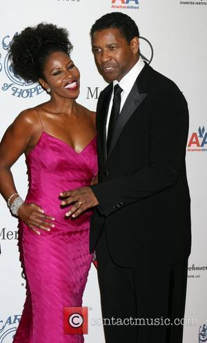 Paulette Washington and Denzel Washington