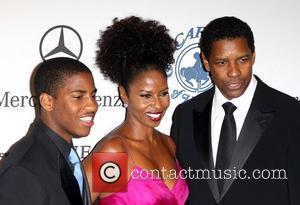 Denzel Washington and Barbara Davis