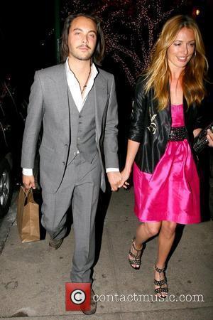 Jack Huston and Cat Deeley leaving Waverly Inn after having dinner New York City, USA - 16.04.09