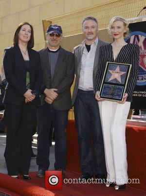 Kathleen Kennedy, David Fincher and Steven Spielberg