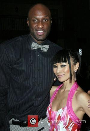 Lamar Odom and Bai Ling The 5th Anniversary Of Cathy's Kids Foundation Dinner held at the Roosevelt Hotel - Inside...