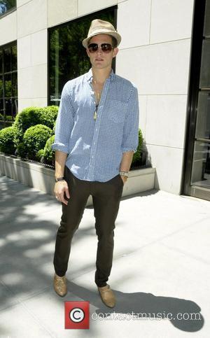 Nico Tortorella outside the Gramercy Park Hotel. New York City, USA - 21.05.09