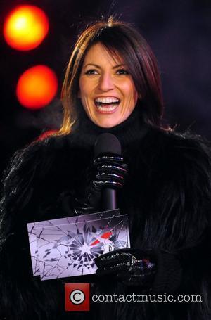 Host Davina McCall Celebrity Big Brother 2009 Borehamwood, England - 02.01.09