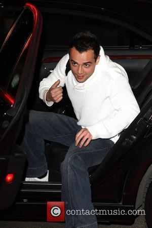 Ben Adams Celebrity Big Brother 2009 opening night - arrivals Borehamwood, England - 02.01.09