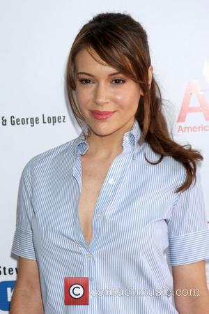 Alyssa Milano  The National Kidney Foundation Celebrity Golf Classic at the Lakeside Lakeside Golf Club - Arrivals Burbank, California...